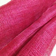 Raspberry Pink Sinamay